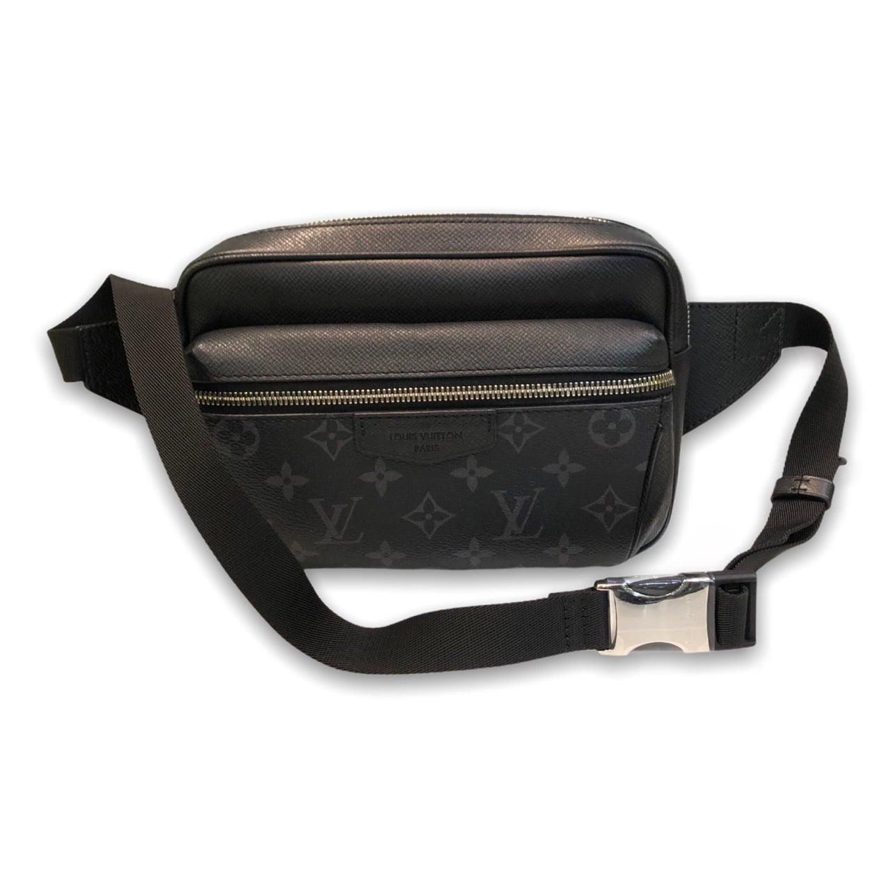 "Louis Belt bag Out door Monogram Eclipse noir Dc 19"""