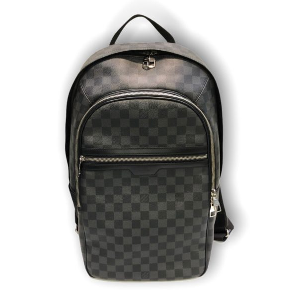 Used! Louis Michael graphite back pack