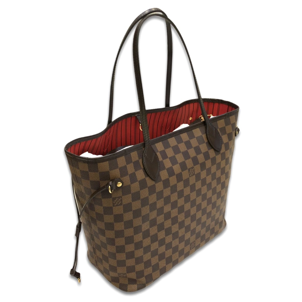 """Used! Louis Neverfull Neo Damier MM DC19"""""""