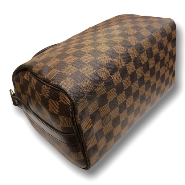 """Used!Louis Speedy bandouliere Damier 25"""" DC17"""""""